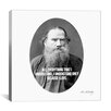 <strong>iCanvasArt</strong> Leo Tolstoy Quote Canvas Wall Art