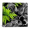 "iCanvasArt ""Leaves over Leaves"" Canvas Wall Art by Harold Silverman - Foilage and Greenery"