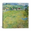 "<strong>iCanvasArt</strong> ""Le Vessenots a Auvers"" Canvas Wall Art by Vincent Van Gogh"