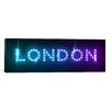 iCanvas 'London' by Michael Thompsett Textual Art on Canvas