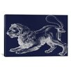iCanvas Astronomy and Space 'Leo (Lion) III' Painting Print on Canvas