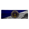 iCanvas Flags Long Beach Panoramic Graphic Art on Canvas