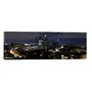 iCanvasArt Panoramic 'Los Angeles Skyline Cityscape (Night)' Photographic Print on Canvas
