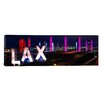 iCanvasArt Panoramic Los Angeles International Airport Los Angeles, California Photographic Print on Canvas