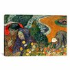 iCanvas 'Ladies of Arle (Memories of the Garden at Etten)' by Vincent Van Gogh Painting Print on Canvas