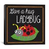 "iCanvas ""Ladybug"" Canvas Wall Art by Erin Clark"