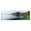 iCanvas Panoramic Lake Washington, Mount Baker Park, Seattle, Washington State Photographic Print on Canvas