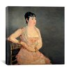 """iCanvasArt """"Lady"""" Canvas Wall Art by Edouard Manet"""