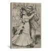iCanvas 'La Danse a la Campagne' by Pierre-Auguste Renoir Painting Print on Canvas