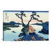 iCanvasArt 'Lake Suwa in the Shinano Province' by Katsushika Hokusai Graphic Art on Canvas