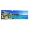 iCanvasArt Panoramic 'Diamond Head, Honolulu, Hawaii' Photographic Print on Canvas