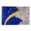 iCanvas Decorative Art 'Rainbow Bridge' by Bill Bell Painting Print on Canvas