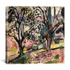 "iCanvasArt ""Promenade Among the Olive Trees (1906)"" Canvas Wall Art by Henri Matisse"