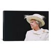 <strong>iCanvasArt</strong> Political Queen Elizabeth Portrait Photographic Print on Canvas