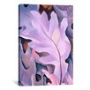 <strong>iCanvasArt</strong> 'Leaves' by Georgia O'Keeffe Painting Print on Canvas