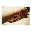 iCanvas Islamic Koran and Prayer Beads Photographic Print on Canvas