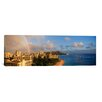 <strong>iCanvasArt</strong> Panoramic 'Diamond Head, Honolulu' Photographic Print on Canvas