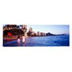 iCanvas Panoramic Waikiki Beach, Honolulu, Hawaii Photographic Print on Canvas