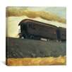 "iCanvas ""Railroad Train, 1908"" Canvas Wall Art by Edward Hopper"