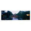 iCanvas Panoramic Pagoda Lit Up at Dusk, Tivoli Gardens, Copenhagen, Denmark Photographic Print on Canvas
