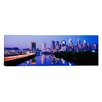 iCanvasArt Panoramic Philadelphia, Pennsylvania Photographic Print on Canvas