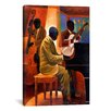 iCanvas 'Piano Man' by Keith Mallett Painting Print on Canvas