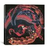 "iCanvas ""Phoenix"" Canvas Wall Art by Katsushika Hokusai"