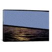 iCanvasArt Modern Art Sunset at Sea Graphic Art on Canvas