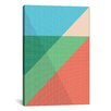 iCanvas Modern Art Overlapped Triangles Modern Graphic Art on Canvas