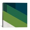 iCanvasArt Modern Art Green Blades of Grass Graphic Art on Canvas