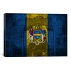 iCanvas Philadelphia Flag, Grunge Liberty Bell Graphic Art on Canvas