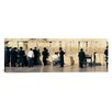 <strong>iCanvasArt</strong> Panoramic People Praying at Wailing Wall, Jerusalem, Israel Photographic Print on Canvas