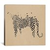 iCanvas Modern Art Leopard Print Painting Print on Canvas