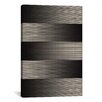 iCanvasArt Modern Art Grayscale Graphic Art on Canvas