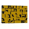 iCanvas Modern Art Scrambled ll Graphic Art on Canvas