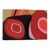iCanvasArt Modern Art Swirl Graphic Art on Canvas