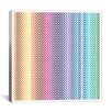 iCanvasArt Modern Art Pride Pattern ll Graphic Art on Canvas