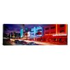 iCanvas Panoramic Ocean Drive, Miami Beach, Miami, Florida Photographic Print on Canvas