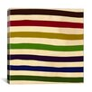 iCanvas Modern Art Earn Your Stripes (After Caporel) Graphic Art on Canvas