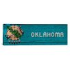 iCanvas Flags Oklahoma Panoramic Graphic Art on Canvas