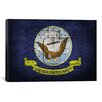 iCanvasArt Flags Navy Metal Rivet Graphic Art on Canvas