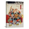 iCanvas 'Old Samurai Japanese Woodblock' Painting Print on Canvas