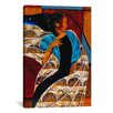 iCanvas 'Nyam' by Keith Mallett Painting Print on Canvas
