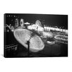 <strong>iCanvasArt</strong> Photography 'Nebraska State Fair Rides' Photographic Print on Canvas