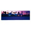 iCanvas Panoramic Ocean Drive Miami Beach, Florida Photographic Print on Canvas