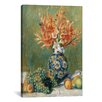iCanvas 'Nature Morte, Fleurs Et Fruits 1889' by Pierre-Auguste Renoir Painting Print on Canvas