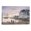 iCanvas 'Nantucket Sunset' by Stanton Manolakas Painting Print on Canvas