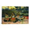 iCanvasArt 'Nave Nave Moe (Sacred Spring / Sweet Dreams)' by Paul Gauguin Painting Print on Canvas