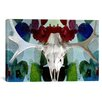 iCanvas Canada Moose Skull 3 Graphic Art on Canvas