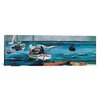 iCanvas 'Nassau' by Winslow Homer Painting Print on Canvas